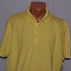 Tricou barbati HUGO BOSS Black Label XXL (marime mare) culoarea galbena, Maneca scurta, Bumbac