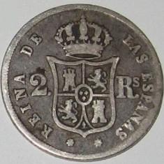 Moneda Argint Spania 1853 COLECTIE, Europa