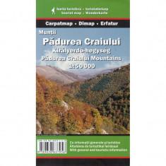 Dimap Harta Turistica Muntii Padurea Craiului din Apuseni