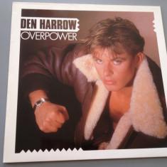 DEN HARROW - OVERPOWER (1985/ ARIOLA REC /RFG) - DISC VINIL/VINYL/IMPECABIL - Muzica Rock