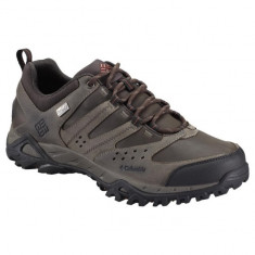 Pantofi din piele pentru barbati Peakfr Xcrsn Leather Outdry Mud (CLM-BM3934-MUD) - Pantofi barbati Columbia, Marime: 40, 41, 42, 43, 44, 45, 46, Culoare: Maro