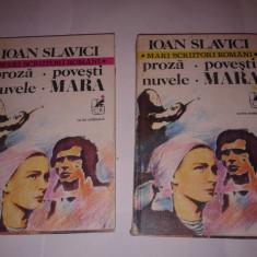 IOAN SLAVICI - MARA+MOARA CU NOROC COMOARA+PADUREANCA+POPA TANDA+POVESTI + .... - Nuvela