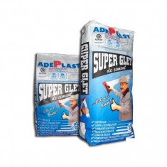 Super glet de ciment finisaj exterior-interior - 5 kg