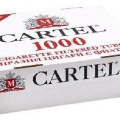 Tuburi tigari Cartel 2 cutii x 1000 buc. !! Predare personala in Bucuresti - Foite tigari