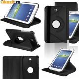 Husa rotativa 360 Samsung Galaxy Tab 3 SM-T210 T210 7'' P3200 P3210 + stylus - Husa Tableta Samsung, 7 inch