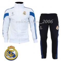 Trening barbati - Trening Real Madrid barbati - Slim-Fit - pantaloni conici -Poze Reale !