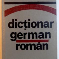 DICTIONAR GERMAN - ROMAN de JEAN LIVESCU, EMILIA SAVIN, 1982
