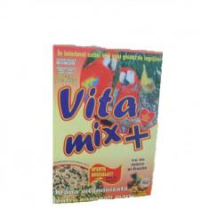 Vita Mix cu miere ou si fructe pt papagali mari 400g - Mancare pasari