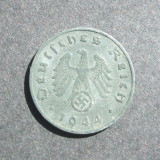 GERMANIA NAZISTA 1 FENNING 1944 A / CALITATE, Europa, An: 1944