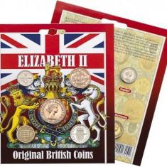 ANGLIA/GB/ PACHET COLECTIE MONEDE ELISABETA II, Europa