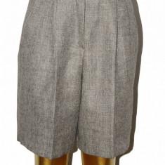 Pantaloni dama - Pantaloni Reutter, stofa lana pura, marime 34