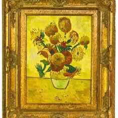 FLOAREA SOARELUI .3 - Pictor strain, Flori, Ulei, Impresionism