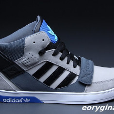Adidasi barbati, Piele naturala - Ghete adidas Originals Hard Court Hi 40 41 superstar forum top ten toamna iarna