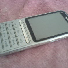 Telefon mobil Nokia C3-01 stare foarte buna, Gri, Neblocat