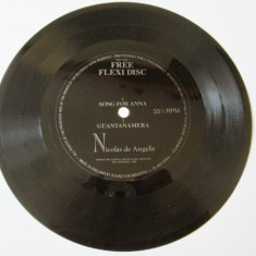 RAR! FLEXI DISC COLECTIE EDITIE LIMITATA NICOLAS DE ANGELIS - Muzica Pop, Alte tipuri suport muzica