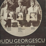 Revista SPORT nr. 10/1975  Dudu Georgescu  Rapid Bucuresti  SC Bacau