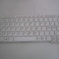 Tastatura Lenovo IdeaPad U160 U165 S200 S205, alba, cu rama - Tastatura laptop