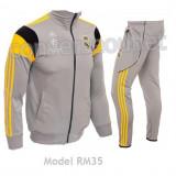 Trening barbati, Microfibra - Trening ADIDAS REAL MADRID - Bluza si pantaloni conici - Modele noi Pret Special
