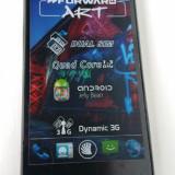 Telefon NGM Forward ART DUAL SIM Quad-Core 1.3Ghz 4GB 1GB RAM 3G Neverlocked - Telefon mobil Dual SIM, Negru, 8GB, Neblocat, Dual core