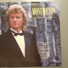 Peter Hofmann/London Sym.Orchestra - Monuments (1988 / CBS REC/ RFG ) - VINIL - Muzica Clasica Columbia