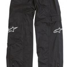 Imbracaminte moto - Pantaloni ploaie copii Alpinestars Youth, negru