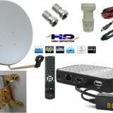 Sistem complet satelit - Antena tv HD auto, camping pentr Focus sat sau Freesat