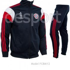 Trening barbati - Trening Adidas Bayern Munchen - Bluza si Pantaloni Conici - Pret Special -