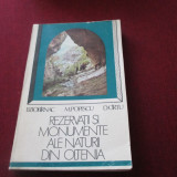 Carte Geografie - REZERVATII SI MONUMENTE ALE NATURII DIN OLTENIA