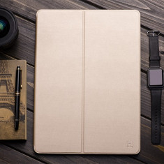 Husa SLIM tableta piele HOCO Juice originala iPAD PRO 12.9'' smart cover, GOLD - Husa Tableta