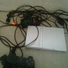 Consola PS2 SLIM - PlayStation 2 Sony - pachet complet (GameLand )