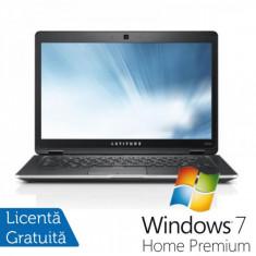 Laptop Dell - Dell Latitude E6430, Intel i5-3320M Gen. a 3-a, 2.6Ghz, 4Gb DDR3, 320Gb, DVD-RW, 14 inch HD Anti-Glare LED + Windows 7 Home Premium