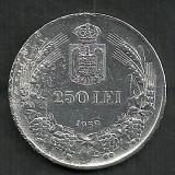 Monede Romania, An: 1939, Argint - ROMANIA CAROL II 250 LEI 1939 [1] ARGINT
