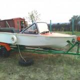 Barca cu motor Crescent 35cp suedeza