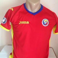 Tricou echipa fotbal, Nationala, Romania, Maneca scurta - TRICOU ROMANIA DEPLASARE EURO 2016 MARIMI DISPONIBILE S, M, L, XL.XXL