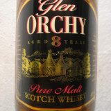 Whisky GLEN ORCHY, pure malt, 8 years, cl 70 40% vol. ani 80