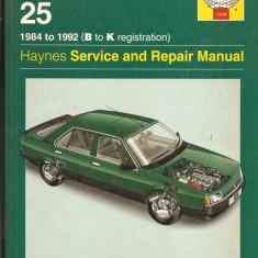 Manual reparatie Renualt 25 - Manual auto