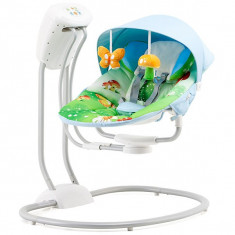 Set mobila copii - Leagan Si Balansoar Electric Chipolino Malibu Mushroom