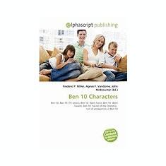 Ben 10 Characters - Carte Literatura Engleza