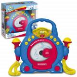 Instrumente muzicale - CD Player cu 2 microfoane Bontempi