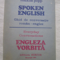 Maxim Popp - Spoken English - Curs Limba Engleza Altele