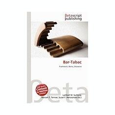 Bar-Tabac - Carte Literatura Engleza