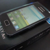 Telefon Samsung - SAMSUNG GALAXY ACE MODEL S5830 / NEGRU / NOU