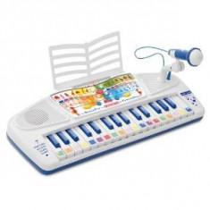 Instrumente muzicale copii - Orga de copii cu microfon, Bontempi