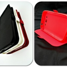 Toc FlipCover Stand Magnet Vodafone Smart speed 6 Rosu - Husa Telefon