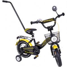 Bicicleta copii MyKids Toma Exclusive 1205 Yellow