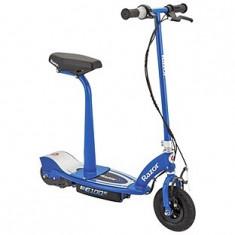 Trotineta copii - Trotineta electrica cu scaun Wow Razor E100S, albastru