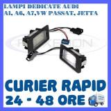 SET LAMPI NUMAR INMATRICULARE AUDI A1, A6, A7, VW GOLF 6 PLUS, JETTA, PASSAT