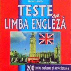 TESTE DE LIMBA ENGLEZA de JEAN-PIERRE BERMAN, MICHEL MARCHETEANU, MICHEL SAVIO 1999
