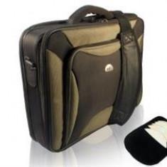Jocuri PC - Natec Laptop Bag Pitbull Black-Olive 17, 0''
