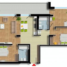 Apartament de vanzare, 4 camere, Etajul 1, An constructie: 2016, Suprafata: 153 - Apartament NOU, Cartier Prima Residence Oradea, 4 camere-TOKYO, 89250Eur